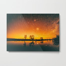 World Spins Madly On Metal Print