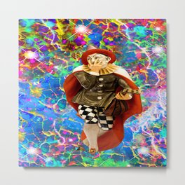 Clown Troubadour Metal Print