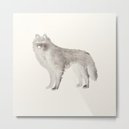 wolf loup Metal Print