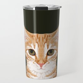 Chase - Cute Cat gifts for pet lovers cat lady gifts and perfect gifts for cat person and cute tabby Travel Mug