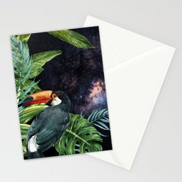 Tropical Space #6 Stationery Cards