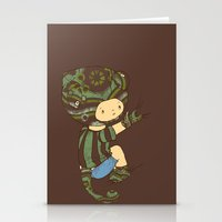 charlie Stationery Cards featuring Charlie by Rachel Isaacs