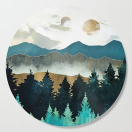 Forest Mist Cutting Board