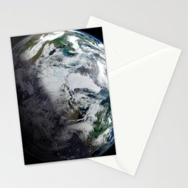 Mosaic of the Arctic Stationery Cards