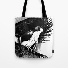 asc 602 - La spectatrice (Valentina at the gallery) Tote Bag
