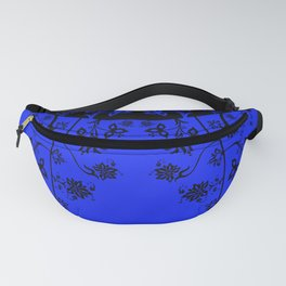 floral ornaments pattern wbim150 Fanny Pack