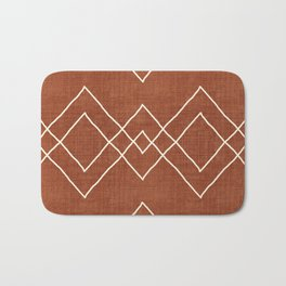 Nudo in Rust Bath Mat