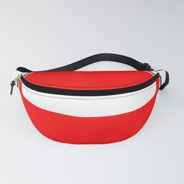 No Entry Sign Fanny Pack