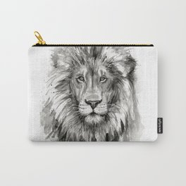 Lion Watercolor Animal Carry-All Pouch