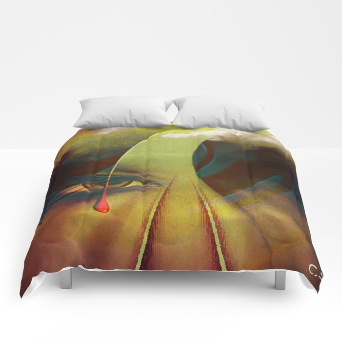 """ Keep an eye on the road ""  Comforters"