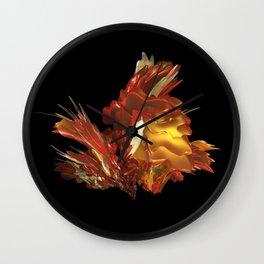 Fire & Flames Wall Clock