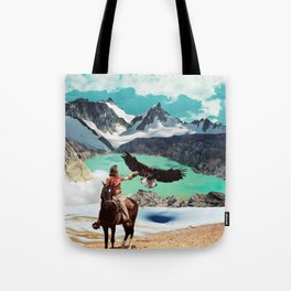The eagle's journey Tote Bag