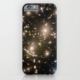 Hubble Space Telescope - Asteroids in Hubble Frontier Field Abell 370 iPhone Case
