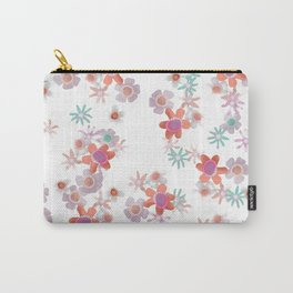 Bits of Flowers Carry-All Pouch