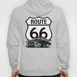 Route 66 Classic Car Nostalgia Hoody