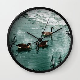 Three Amigos Wall Clock
