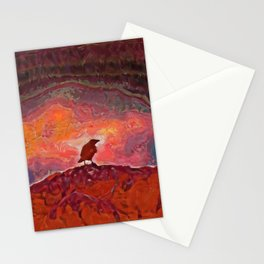 The Crow Stationery Cards