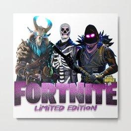 Skull Trooper Metal Print