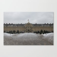 Hotel Des Invalides Canvas Print