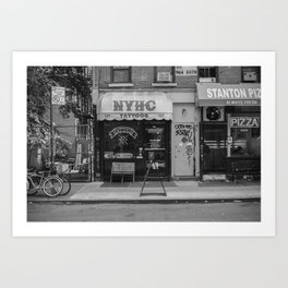 New York Hardcore Art Print