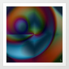 Graphical Expression III Art Print