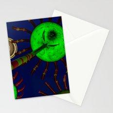 Seattle Flowers Space Needle - Travel Washington Cascadia Stationery Cards
