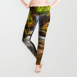 Swiss rapids. Leggings