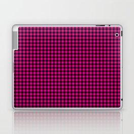 Mini Black and Hot Pink Cowgirl Buffalo Check Laptop & iPad Skin