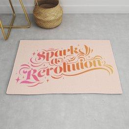 Spark a Revolution - Gradient Rug