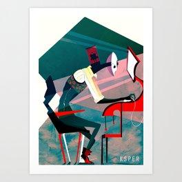 NUMB Art Print