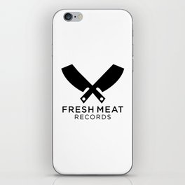 Fresh Meat Records crest iPhone Skin