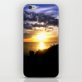 Sunrise over Port Philip Bay - Melbourne iPhone Skin