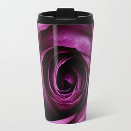 Aubergine Rose Travel Mug