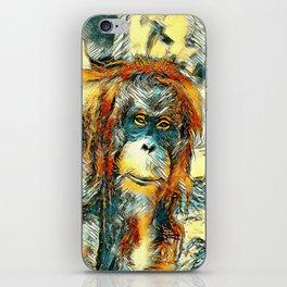 AnimalArt_OrangUtan_20180201_by_JAMColors iPhone Skin