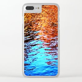 Ripple Dissolve Clear iPhone Case