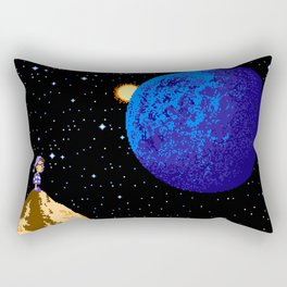 Faraway from Home Rectangular Pillow