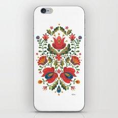 Folk Embroidery iPhone & iPod Skin