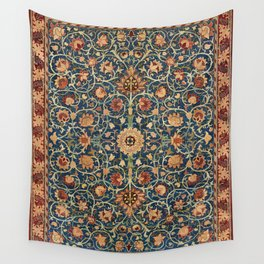William Morris Floral Carpet Print Wall Tapestry