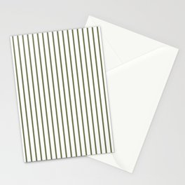 Wheelbarrow Grey Pinstripe on White Stationery Cards