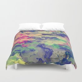 Abstract painting X 0.3 Duvet Cover