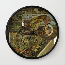 Untitled Collage Wall Clock