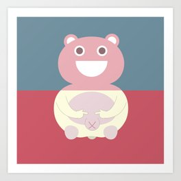 Pantless Project / TEDDY Art Print