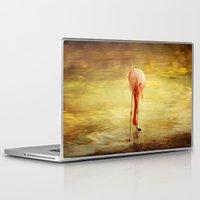 flamingo Laptop & iPad Skins featuring Flamingo by Kim Bajorek