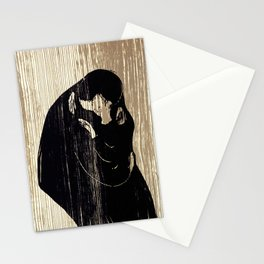 "Edvard Munch ""The Kiss"", 1897 Stationery Cards"