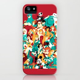 Mouse House Heroes iPhone Case