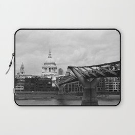 London - St. Paul's and Millennium Bridge Laptop Sleeve