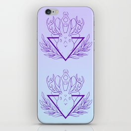 Lunar Rabbit / Jackalope // Purple iPhone Skin