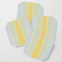 Soft Vintage Color Block Coaster