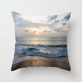 dawn on samui Throw Pillow