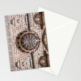 citta alta, bergamo, lombardy, italy | the basilica of santa maria maggiore  Stationery Cards